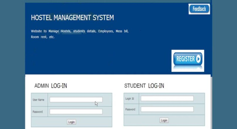 Hostel Management System in PHP (PHP: Hypertext Preprocessor)