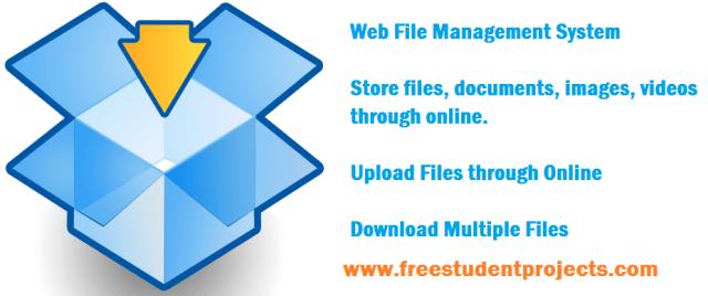 Web File Management System source code