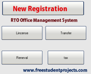 RTO Office Management System
