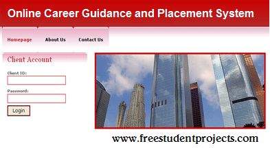 Online Career Guidance and Placement System