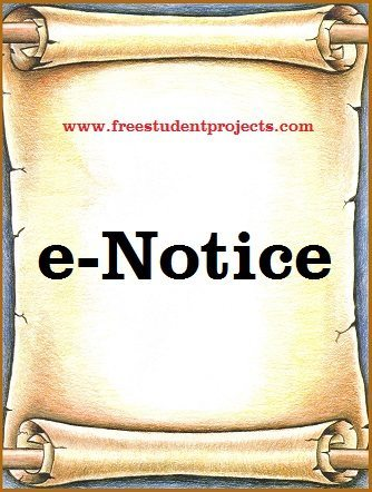 e-Notice