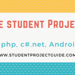 student project guide banner