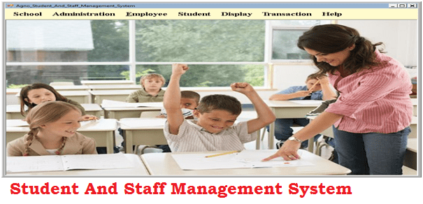 Student And Staff Management System