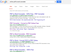 convert pdf to word document