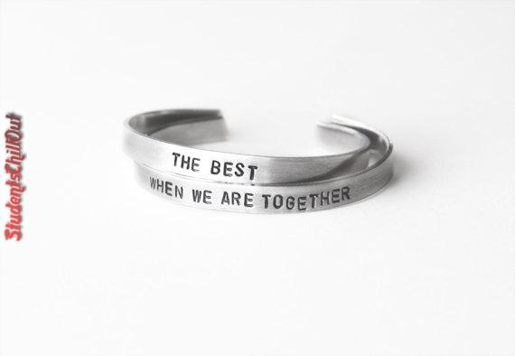 friendship bracelets silver