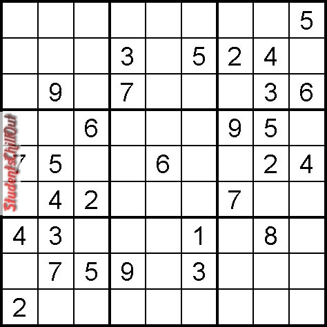 image relating to Kids Sudoku Printable referred to as Printable youngsters sudoku StudentsChillOut