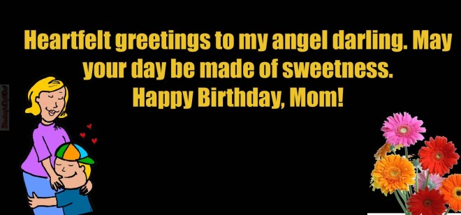 happy birthday wishes mom