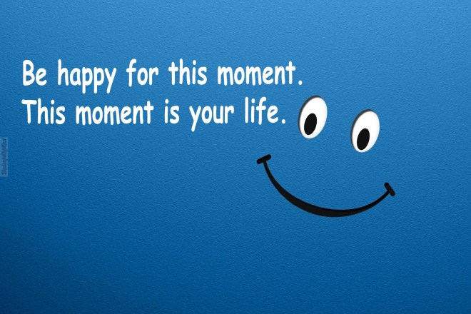 happy with life quotes