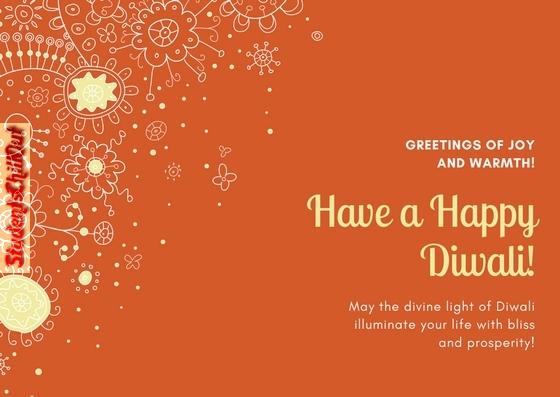Happy Diwali - Greeting Card