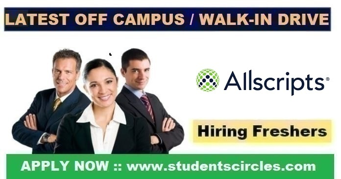 Allscripts Off Campus Drive 2020