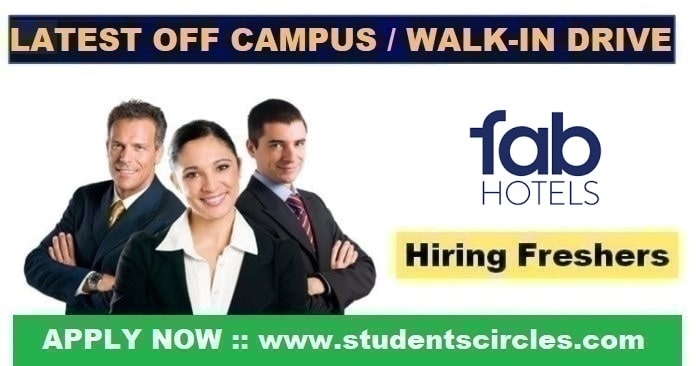Fabhotels Off Campus Drive 2020