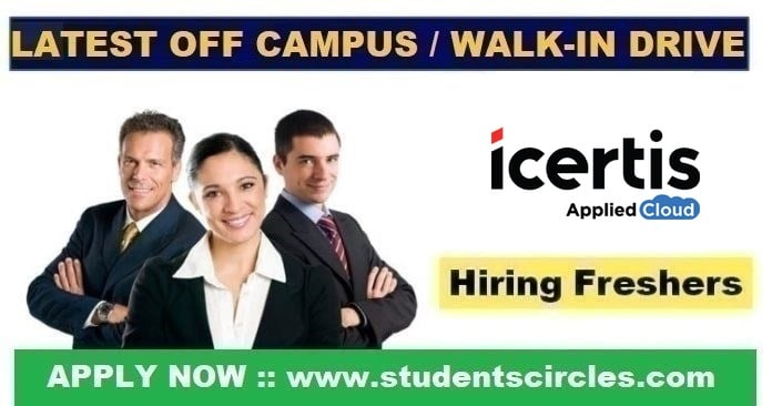 Icertis Recruitment 2020