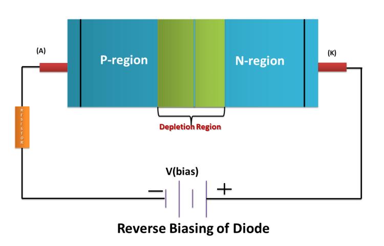 Reverse Bias of PN junction Diode