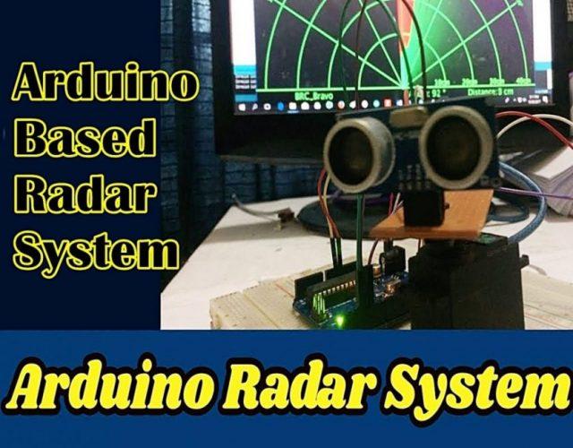 Arduino Based Radar Project Using Ultrasonic Sensor 2019 (Updated)