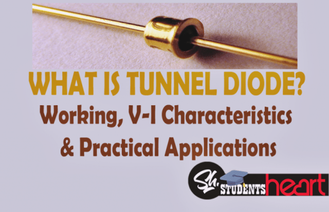 What Is Tunnel Diode Working V I Characteristics 2018 Reverse Bias Oscillator Circuit