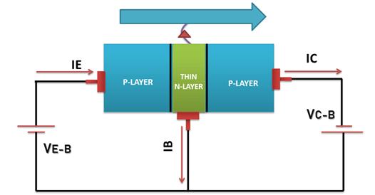 PNP Bipolar Junction Transistor operation