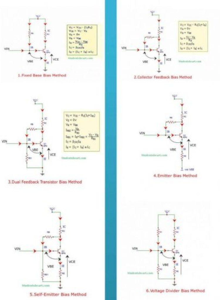transistor biasing circuit