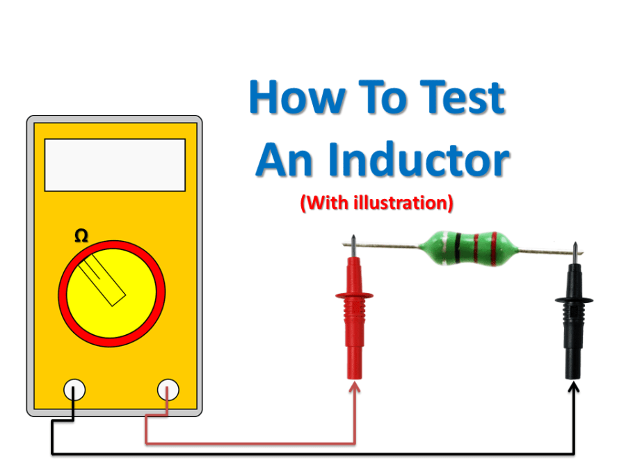 How to test an inductor tutorial