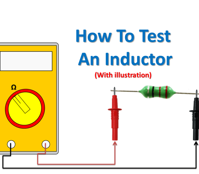 How To Test an Inductor using Multimeter