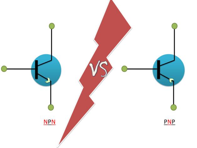 NPN and PNP Symbol