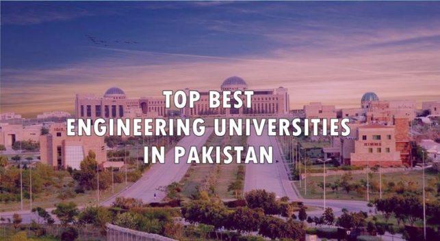 Top Best Engineering Universities in Pakistan 2020