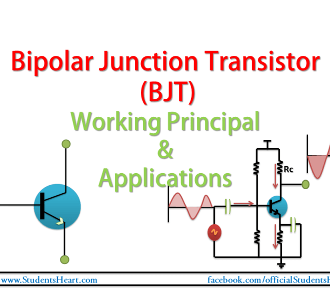 What is Bipolar Junction Transistor? Working Principal and Applications