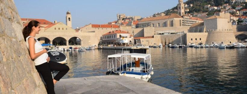 Nosečnost in potovanja Dubrovnik