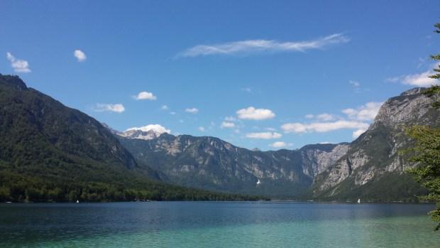 Bohinjsko jezero Študentska mama