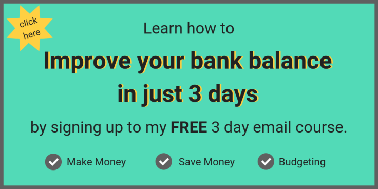 Student Skint Improve your bank balance in just 3 days