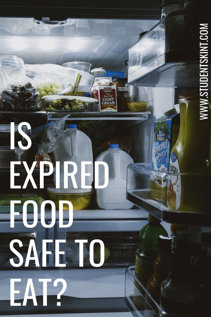 Is expired food safe to eat?