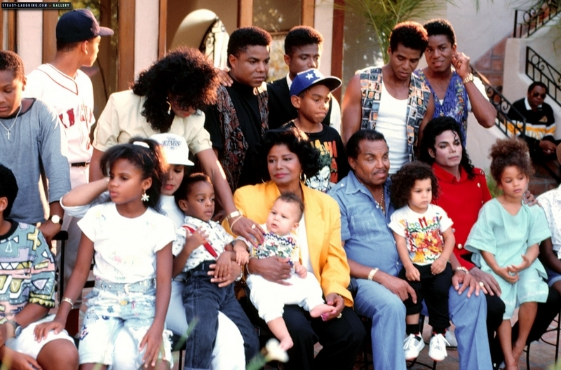 Image result for the Jackson family at Neverland
