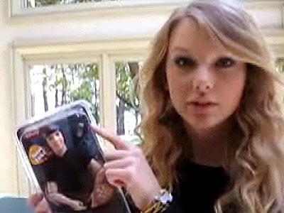 BUT TAYLOR DIDN'T STAY DOWN SHE MADE A YOUTUBE VIDEO JUST FOR JOE JONAS!
