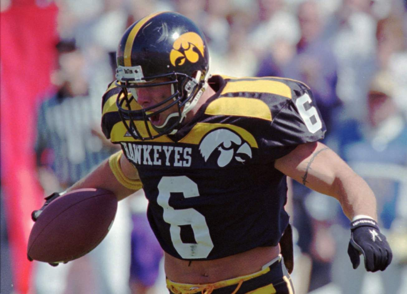8546cd728 So let s just dive into this thing faster than an Iowa run play on 3rd and  9 and talk about the most impactful Iowa football uniforms of my lifetime.