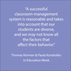 Thomas Kerman & Paula Kondratko in Education Week
