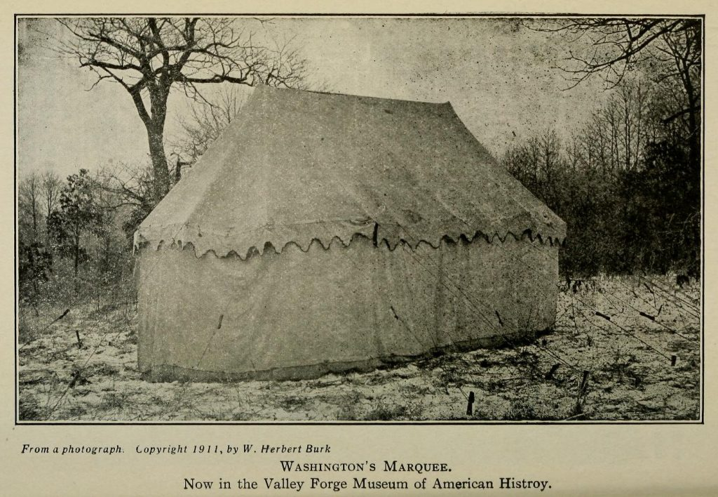 The secret lives of objects: George Washington's War Tent