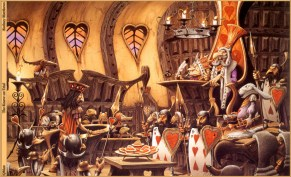 Illustration de Rodney Matthews.