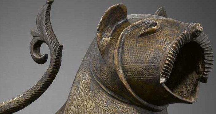 Le Lion de Monzón - Département des Arts de l'Islam au Louvre