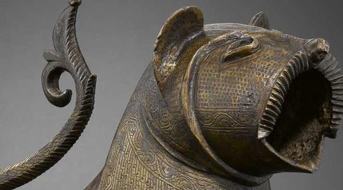 Le Lion de Monzón – Département des Arts de l'Islam au Louvre