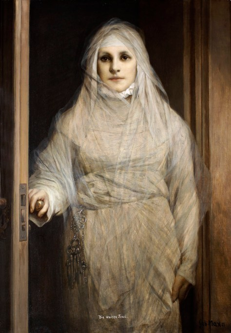 Gabriel von Max - The White Woman