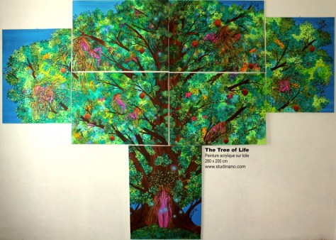 The Tree of Life - Peinture - Painting