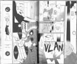Captures d'écran et scan de Divine Nanami (Japonais : Kamisama Hajimemashita), montrant l'oni-baba. Manga de Julietta Suzuki, 2008-2016