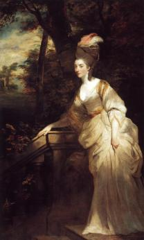 Sir Joshua Reynolds - Georgiana, Duchess of Devonshire