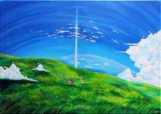 La Tour au-delà des nuages