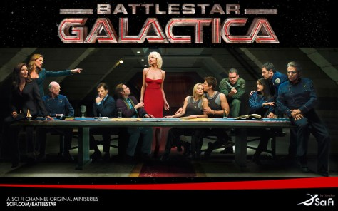 La Cène version Battlestar Galactica