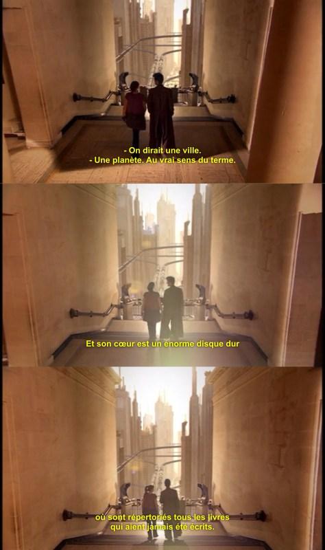 Capture d'écran de La Bibliothèque des Ombres (Silence in the Library), Doctor Who, épisode 8 , saison 4 (2008)