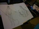 Elsa et Jack Frost (Work in progress)
