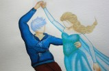 Elsa et Jack Frost dansant (Work in progress)