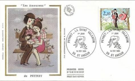 les-amoureux-de-peynet-dessin-art-saint-valentin-La-Poste-timbre-philatelie