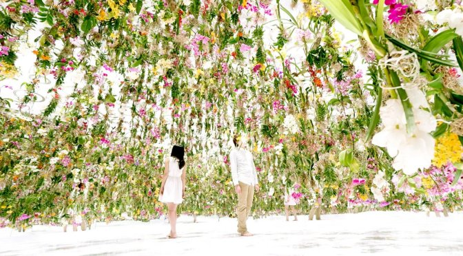 Un Jardin d'Eden au Japon : Floating Flower Garden