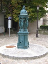Fontaine Wallace à Reims.